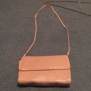 Light Dusty Pink Whiting and Davis Purse